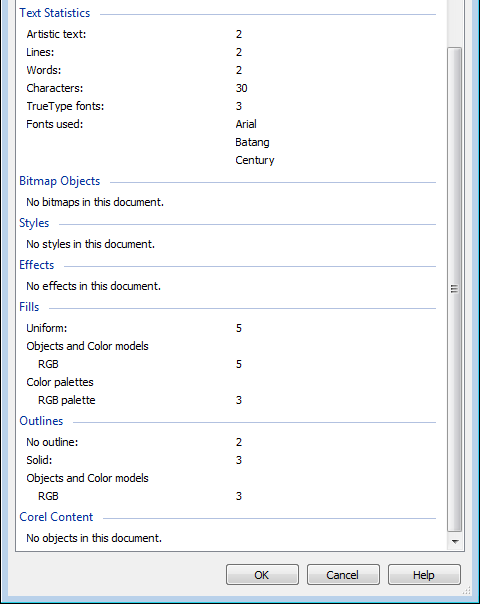 How to view and set document properties in CorelDRAW - artalbum org ua
