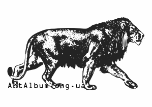 Clipart asiatic lion