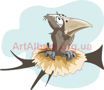 Clipart crow