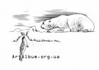 Clipart polar bear