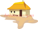 Clipart village house