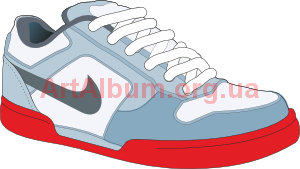 Clipart sneakers