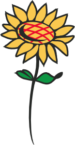 Clipart sunflower