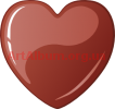 Clipart chocolate heart