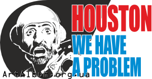 Clipart Houston, we have a problem