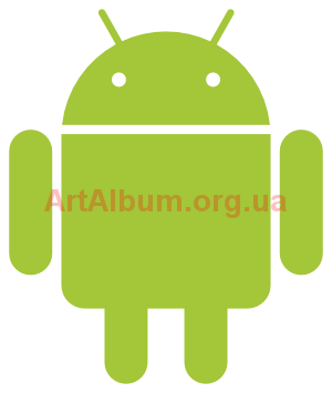 Clipart Android logo