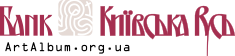 Clipart logo of Kyivska Rus bank