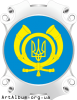 "Clipart logo of posts of Ukraine ""Ukrposhta"""