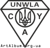 Clipart logo of UNWLA