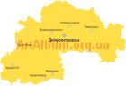 Clipart Dnipropetrovsk region map