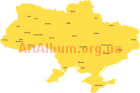 Clipart The regional centers of Ukraine