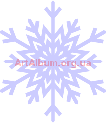 Clipart snowflake