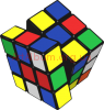 Clipart cube of Rubik