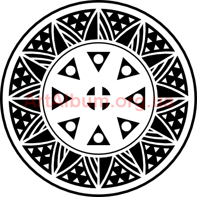Clipart Hutsul ornament