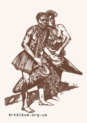 Clipart aborigines of Polynesia