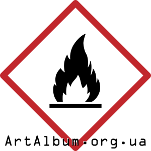 Clipart combustible material sign
