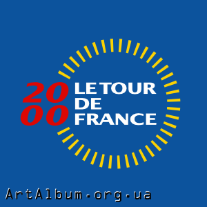 Clipart Tour de France 2000 logo