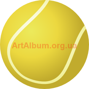 Clipart tennis ball