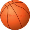 Clipart basketball ball