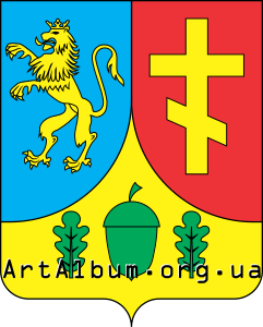 Clipart Bilobozhnytsia coat of arms