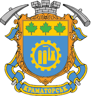Clipart coat of arms of Kramatorsk