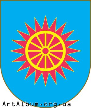Clipart Obukhiv raion coat of arms