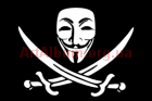 Clipart flag of Anonymous