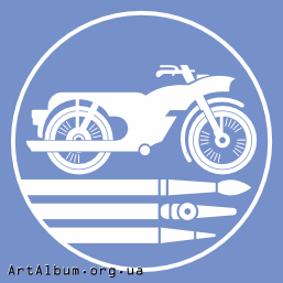 Clipart icon - motorcycle