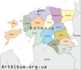 Clipart Estonia map english