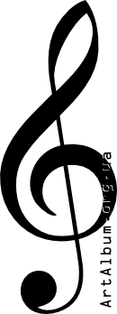 Clipart G-clef