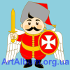Clipart Ukrainian cossack