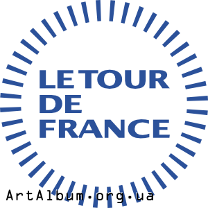 Clipart Tour de France logo