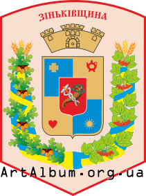 Clipart Zinkiv raion coat of arms