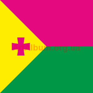 Clipart flag of Oleksandriia
